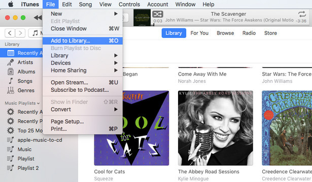 Import Spotify Music to iTunes