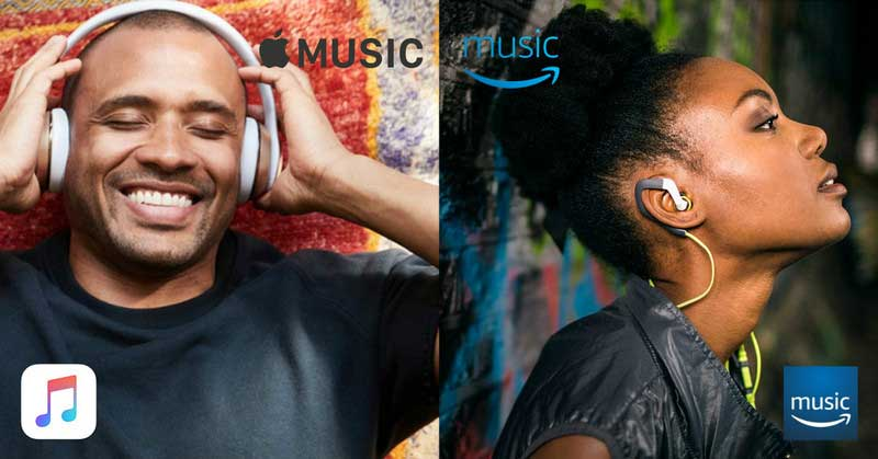 Apple Music and Amazon Music comparison